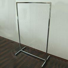 Štender BANKO 60 cm, pevný, chróm