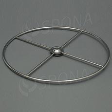 Stojanček na stôl - kruh 300 mm, chróm