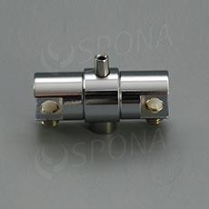 WIRE úchyt poličky, otočný obojstranný pre lanko 1, 5 - 2, 0 mm, chróm