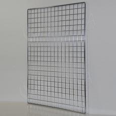 Sieť 5 mreža1 100 x 80 cm, chróm