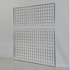 SIEŤ 5 mreža1, 100 x 100 cm, chróm