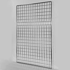 Sieť 5 mreža1 150 x 100 cm, chróm