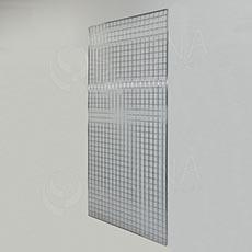 Sieť 5 mreža1 200 x 100 cm, chróm