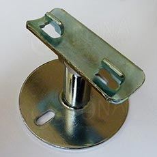 ROTO držiak guľatej stojiny, nastaviteľná dĺžka 40-70 mm