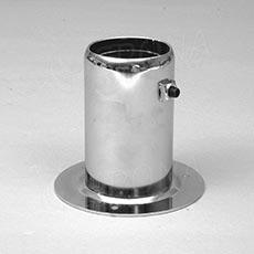 ROTO fixační element 60 mm, vnútorný, chróm