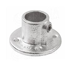 IDROSHOP 35131, koncovka do steny pre trubku 35 mm, pozink