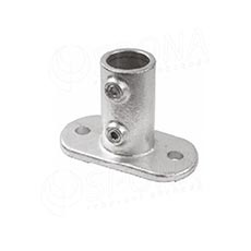 IDROSHOP 35132, koncovka do steny pre trubku 35 mm, pozink