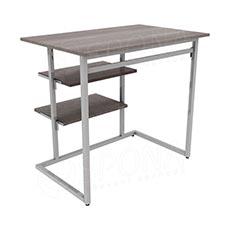 TRIPLO 9381B KIT stolík s policami, 90 x 60 cm, výška 90 cm, matná šedá
