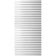 SLAT panel 120x240/10, bez insertov, biely