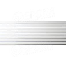 SLAT panel 240 x 90 / 10 terminál, bez insertov, biely