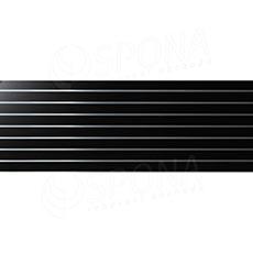 SLAT panel 240 x 90 / 10 terminal, bez insertov, čierny
