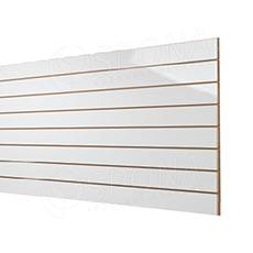 SLAT panel 240 x 120 /10 terminál, bez insertov, vysoký lesk biely (white)