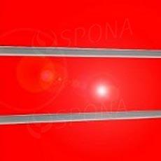 SLAT panel 240 x 120 /10 terminál, bez insertov, vysoký lesk červený