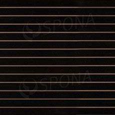 SLAT ART panel 240x120 cm,10 bez insertov, čierny (nero)