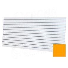 SLAT panel ART 240x120 TERMINAL, rozteč 10 cm, bez insertov, pastelová žltá