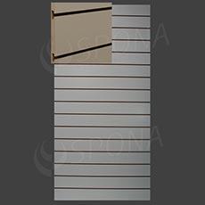 SLAT ART drážkový panel 120 x 240 cm, 15, bez insertov, magnólia