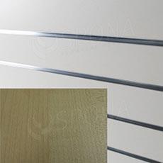 SLAT ARK panel 120 x 240 cm, 20, bez insertov, buk
