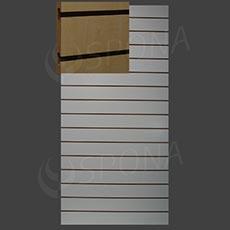 SLAT ARK drážkový panel 120 x 240 cm, 20, bez insertov, javor (acero)
