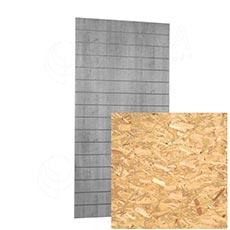 SLAT panel ARK 120x240 cm, 15, bez insertov, design OSB