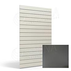 SLAT panel ARK 120x240 cm, 10, bez insertov, antracit