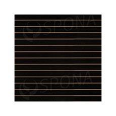 SLAT DREAM panel 120,5 x 122 cm, 10, bez insertov, čierny (black)