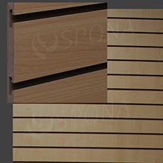 SLAT DREAM panel 120,5 x 122 cm, 15, bez insertov, buk (beech)