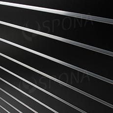 SLAT DREAM panel 120,5 x 122 cm, 15, bez insertov, čierny (black)