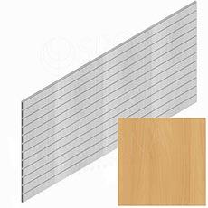 SLAT panel PROMO 244 x 122 cm / 15, terminal, bez insertov, buk (Beech)