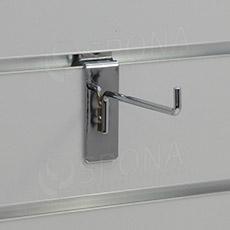 SLAT háčik L, dĺžka 35 mm, chróm