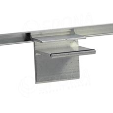 SLAT držiak sklenených políc 8 x 19 mm