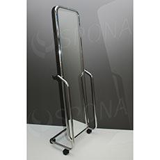 Zrkadlo výklopné pojazdné 450 x 1500 mm