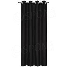 Záves do kabínky, 140 x 235 cm, čierny