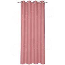 Záves do kabínky, 140 x 235 cm, ružový