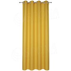 Záves do kabínky, 140 x 235 cm, žltý
