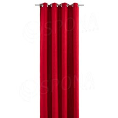 Záves do kabínky, 140 x 245 cm, červený