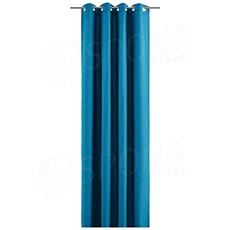 Záves do kabínky, 140 x 245 cm, petrolejovo modrý