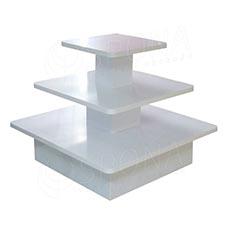 Gondola stredová - pyramída P 12/10, boky 120cm, výška 99 cm, biela