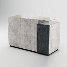 Pult predajný UNO 160 x 70 x 100 cm, betón
