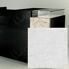 Čelný panel pre predajný pult UNO, umelá koža, biela matná