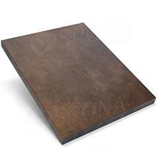 Pult predajný UNO - čelný panel, farba bronzová