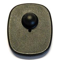 Bezpečnostná etiketa TOP 8,2 MHz, 52 x 43 mm, plast, čierna